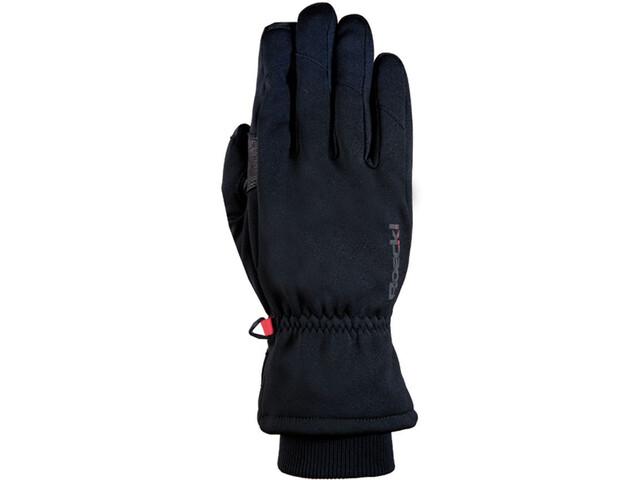 Roeckl Kiberg Handschuhe schwarz/rot
